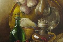 Art #3: still-life paintings / Натюрморты