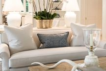 open plan living spaces
