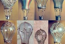 Lightbulb crafts
