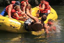 White Water Rafting / Seeing the world from a raft, kayak, drift-boat or any craft that floats a river!