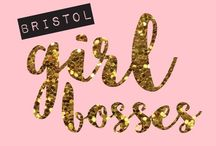 Bristol Girl Bosses! / Collective of 8 Makers from Bristol.  Supporting local female creatives.  #bristolgirlbosses on Instagram to be part of our Feature Fridays.