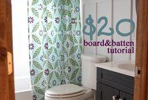 Inspiration: bathroom / by Betsy Harrahy