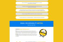 Email Marketing Deliverability Tips / Tips for marketers to use to get their emails into their customers' inboxes properly.
