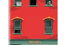Facades / A collection of illustrated building fronts. / by Michael Knepprath