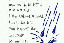 Pain.....