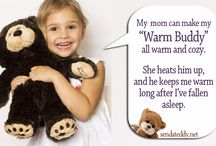 Warm Buddy / Warm Buddy warm-up plush animals will soon be your baby's favorite! The Warming Pillow for adults will even become your favorite as you discover the heats healing abilities, and how it suits and relax tense muscles.