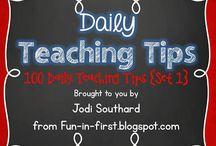 Daily Teaching Tips
