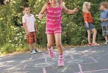 { neighbors + games = fun block party }