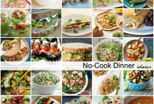 No cook dinner ideas