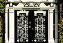 DOORS DOORS DOORS / Gorgeous passages, windows, doors, and gates.