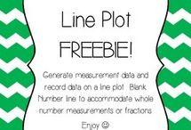 measurement and line plots 4th grade