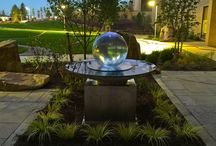 Healing Sphere Fountains