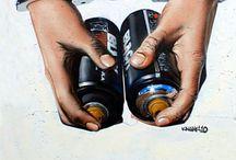 Griffiti spray can