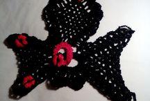 Accesorii crosetate,tricotate
