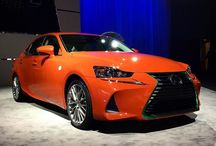 #Lexus brought the hottest car to the L.A. Auto Show. It's so hot, it's spicy. #LexusIS #LexusSriracha