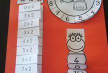Második osztály matek