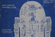 Blueprint and Map