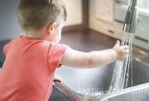 Childrens pod kitchen