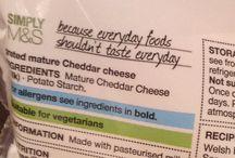 Hidden ingredients