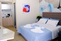 Nautilus Studios / We have 6 new, luxuriously appointed beachfront studios, all are stylishly decorated and furnished with comfortably furnished balconies which enjoy serene views over the turquoise Aegean Sea.