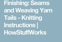 Knitting instructions