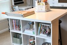 Craft Room Ideas / by Charlotte McKinley