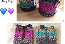 tazas crochet
