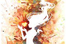 Watercolour inspirations