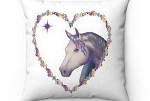 Horse Art home goods