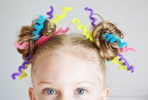 Girls crazy hairstyles