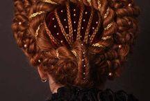 renaissance hair style