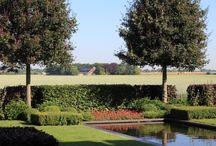 Villatuinen / Tuinen bij villa's en vrijstaande woningen met diverse soorten tuinen.