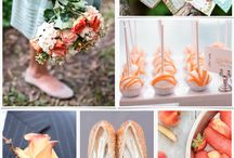 Orange and Aqua / by Lux Events and Design