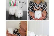 Decorações infantis / Idéias criativas de decorações para as crianças.
