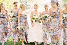 Bride & Bridesmaids | Floral / Bride & Bridesmaids | Floral