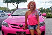 Pink Cars / by Pink Chick Psychic Linda Kaye