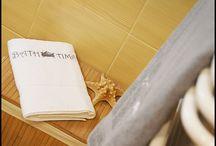 szarości w łazience / Czasem jeden szczegół potrafi zdziałać cuda. Wszystkie elementy aranżacji znajdziecie u nas na www.home-idea.pl - zapraszamy