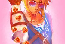 Link zelda and (Videogames)