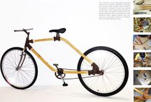 Bamboo - Bikes and trailers / A collection of bamboo bikes and trailers