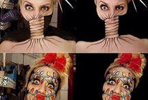 Straszne makijaze