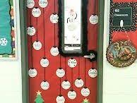 karácsonyi ajtó dísz