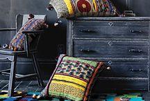 Textiles deco - Tapis - Coussins