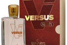 Perfumaria / A linha Versus foi inspirada nas mais famosas fragâncias mundiais. Nosso processo de fabricação concede a nossa perfumaria um padrão que nos permite entrar em mercados Nacionais e Internacionais.