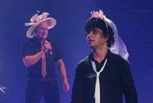 Billie Joe Armstrong and his weird outfits