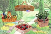 Gardening Baskets by Peterboro Basket / by Peterboro Basket Company