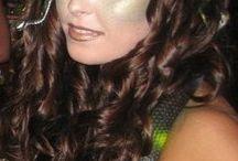 Medusa costume/hair/makeup