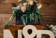 Wedding Inspiration - Place Cards & Seating Charts / Seating Chart Inspiration