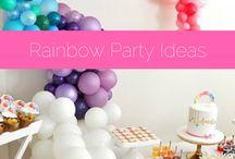 Rainbow Party Ideas / 0