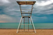 Life Guard Towers & Checkpoints