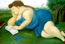 Fernando Botero, vrouwen / schilderijen